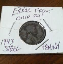 1943 steel penny error ebay
