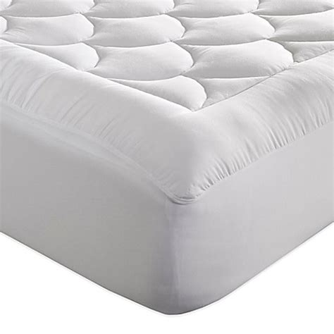 bed bath beyond mattress pad perfect fit 174 magic loft cloud mattress pad bed bath