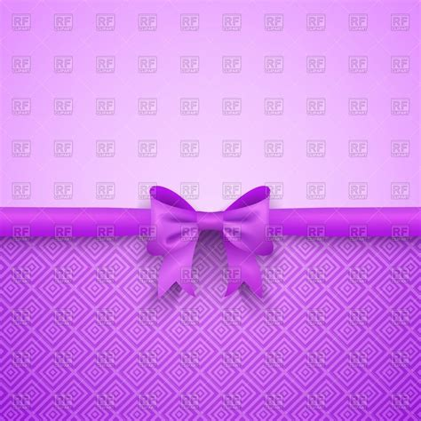 Sofia Polka Minnie Cantik 388 purple background with bow royalty free vector