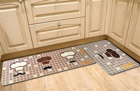 designer kitchen rugs designer teapot print area rug brown room floor mats
