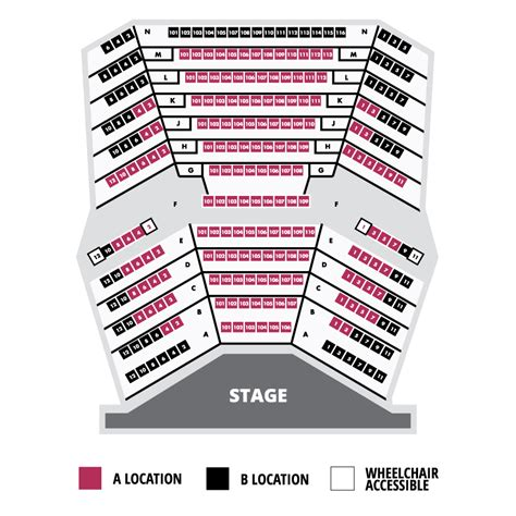 st theater seating plan seating chart everyman theatre