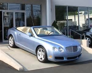 Bentley Convertible Blue Powder Blue Bentley Convertible My Car S