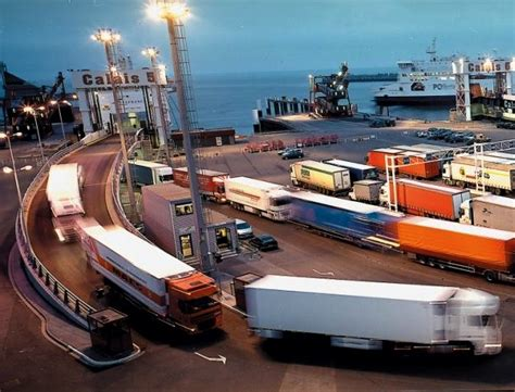porto calais calais port strike throws automotive freight movements up