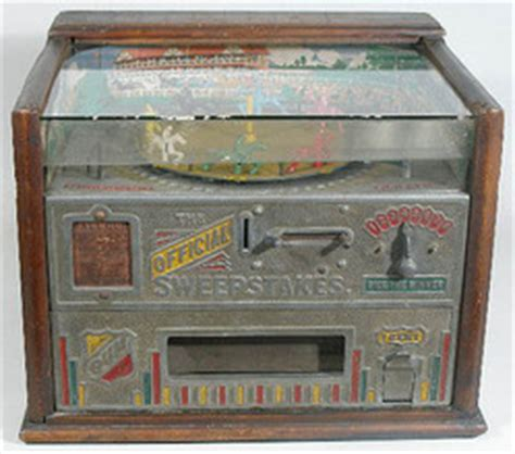 Horse Sweepstakes - trade stimulator rock ola official sweepstakes horse race gum vendor honus wagner