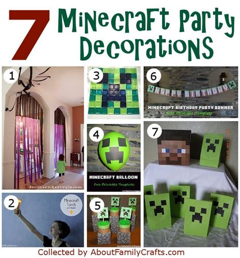 printable minecraft birthday party decorations diy printable minecraft cake ideas and designs