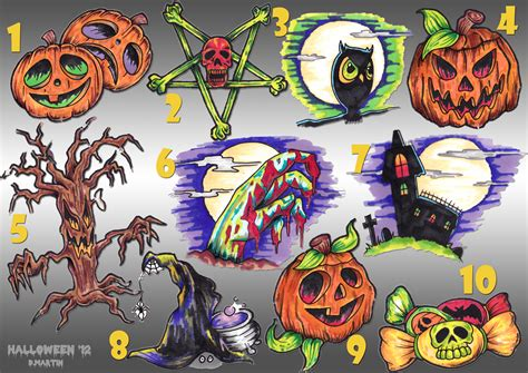 halloween tattoo designs madhouse shops