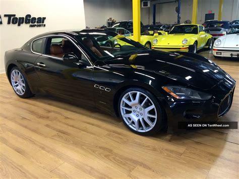 Cheapest Maserati by 2008 Maserati Grand Turismo Coupe Black With Cuoiosella