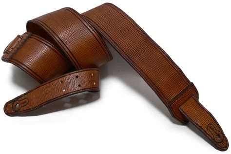 Handmade Leather Guitar Straps - budget handmade leather guitar