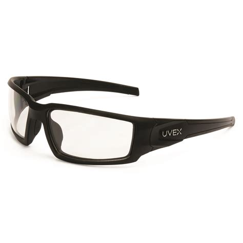 uvex s2940xp hypershock safety glasses matte black frame