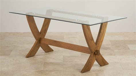 glass top dining tables oak furniture land