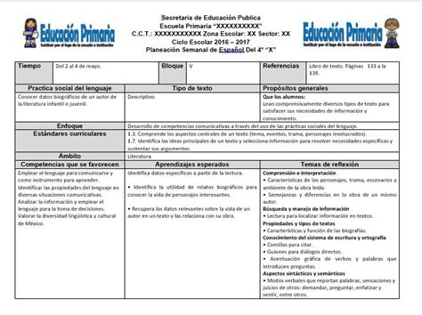 planeaciones cuarto grado bloque 1 primer bimestre ciclo escolar 2014 planeaciones del cuarto grado del quinto bloque del ciclo
