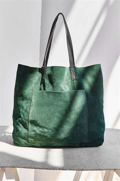Outfitters Turquoise Suede Bag by Bdg Suede Pocket Tote Bag Outfitters Bags And