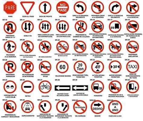 imagenes de simbolos viales educaci 243 n vial se 241 ales de tr 225 nsito