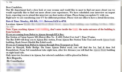 Spot Offer Letter In Hyderabad How To Spot Scammers And In The Uae Dubai Ofw