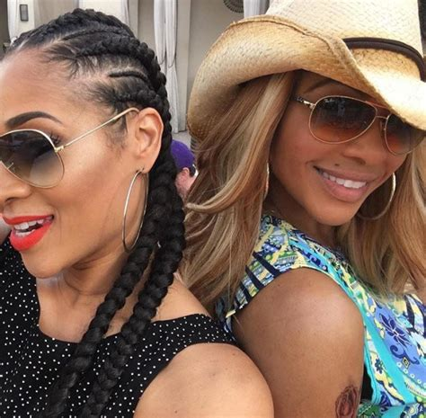 mimi faust hair line spice up your cornrows with this simple twist