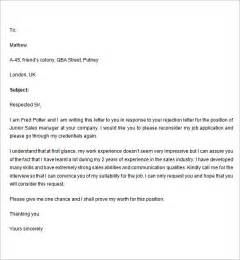 sample rejection letter 7 free documents download in word