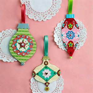 Making Fall Decorations - paper crafts ideas make your own colorful christmas tree ornaments interior design ideas