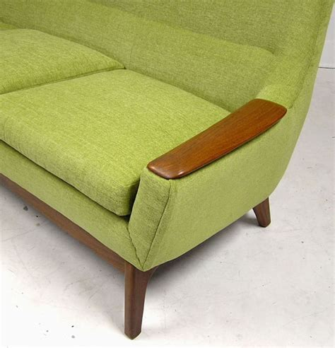 70s couch 1960 70s 3 seat teak sofa hoopers modern