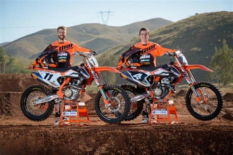 Ktm Thor Ktm Partners Up With Thor Parts Canada For The 2016 Cmrc