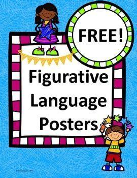 printable figurative language poster free figurative language posters slp idioms figurative