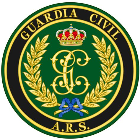 fileservice badge of the guardia civil mountain and speleology rescue file emblem of the guardia civil s reserve and security