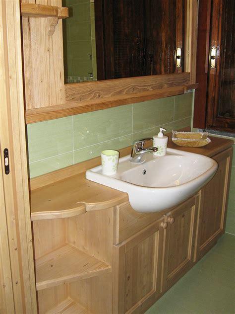 arredamento in legno naturale gallery of arredo bagno in legno naturale mobilia la tua