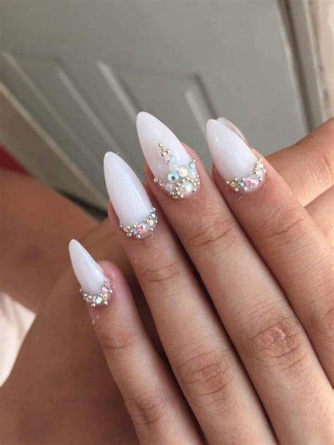 fotos de uñas acrilicas blancas 1000 images about white nails on pinterest gold nails