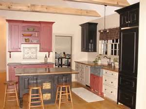 mixed kitchen cabinets photobucket bathroom bi color kitchen cabinets pinterest