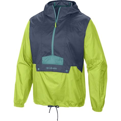 Columbia S Flashback Windbreaker Jacket columbia flashback windbreaker pullover 1 2 zip jacket s backcountry