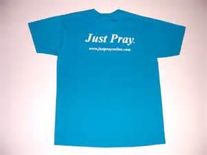 Blue California Just Pray