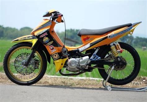 gambar motor race gambar modifikasi jupiter z road race paling sporty dan keren