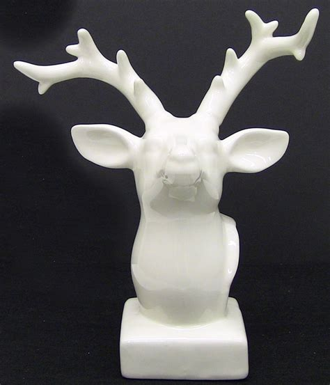 porcelain deer head porcelain deer head decoration