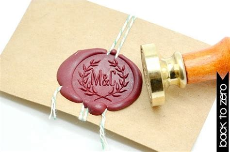 Unique Ways To Seal Wedding Invitations by 21 Wedding Ideas Using Your Own Initials