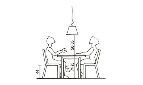 l altezza giusta per il tavolo da pranzo casafacile