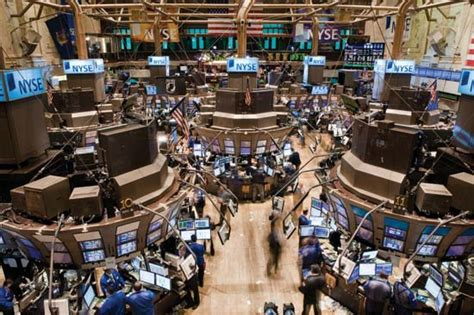Stock Market Floor by New York Stock Exchange Definition History Facts