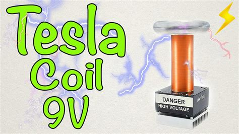 How To Make A Small Tesla Coil How To Make A Mini Tesla Coil 9v