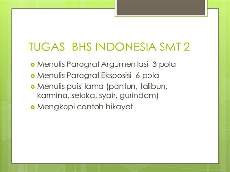 menulis puisi lama ppt tugas bhs indonesia smt 2 ppt download