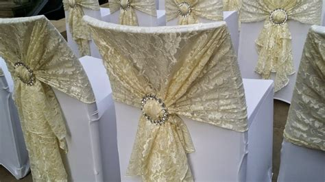 Lace Chair Sashes by Lace Sashes