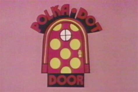 Polka Dot Door by File Polka Dot Door Logo 1971 Png Wikimedia Commons