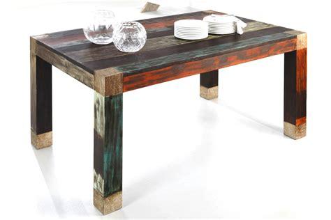 esstisch 160x100x77 cm mango metall esszimmertisch - Metall Esszimmertisch