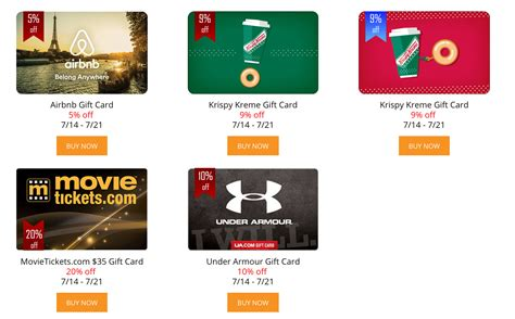 Airbnb Physical Gift Card - expired giftcardmall save on airbnb krispy kreme under armour and movietickets