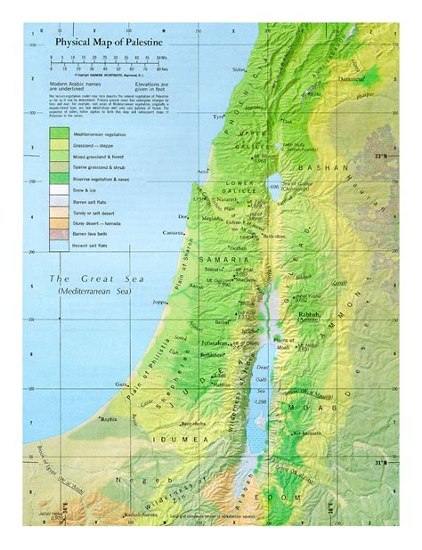 maps of palestine detailed map of palestine in