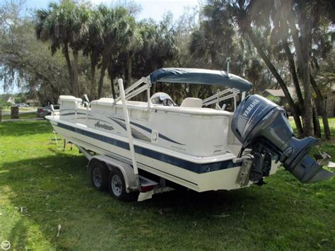 deck boats for sale in florida used 2006 used hurricane 226re fun deck fishing deck boat for