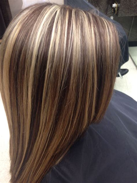 high lights and low lights for womans hair highlights lowlights hair pinterest