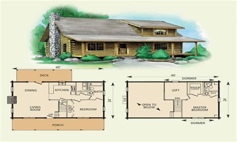 Small Log Cabin Floor Plans With Loft by Log Cabin Floor Plans With Loft Small Cabin Floor Plans