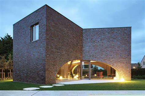 modern brick house 5 modern brick homes that perfectly mix new and old