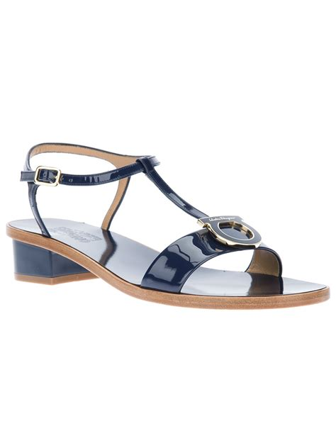 navy blue flat dress sandals blue sandals