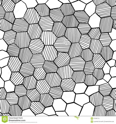 drawing honeycomb pattern abstract hand drawn honeycomb stock images image 37038714