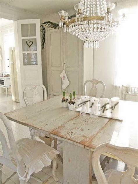 shabby chic whitedining room cushions 35 beautiful shabby chic dining room decoration ideas listing more