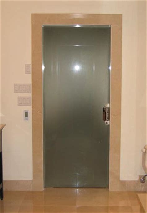 Frosted Glass Bathroom Doors Frosted Glass Pocket Doors For Your House Seeur